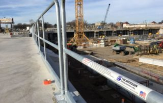 Allianz Project Hilmerson Safety Rail Guardrail