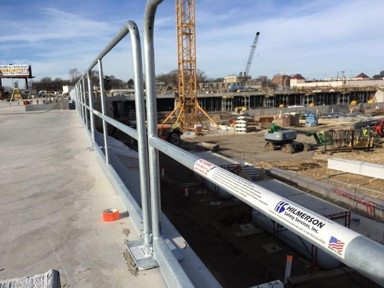 Allianz Project Hilmerson Safety Rail Guardrail