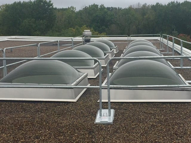 Skylight Protection, Midwest - Hilmerson Safety Rail System™