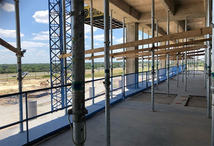 Methodist Health System Hospital, Midlothian, TX - Hilmerson Safety Rail System™