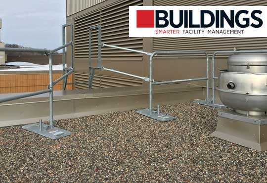 Buildings News Article Magazine Hilmerson Safety Rail System