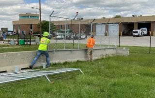 KCI Airport Terminal Expansion - Kansas City, Missouri - Hilmerson Barrier Fence System™