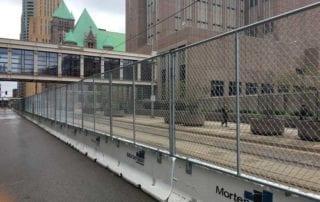 Hilmerson Barrier Fence System™ Minneapolis Mortenson Construction