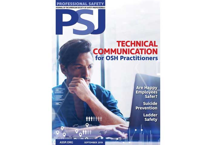 PSJ Professional Safety Journal Hilmerson Safety