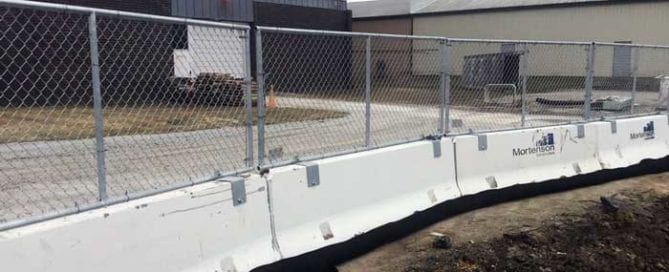 Xtream Arena Hilmerson Safety Barrier Fence System Construction Safety