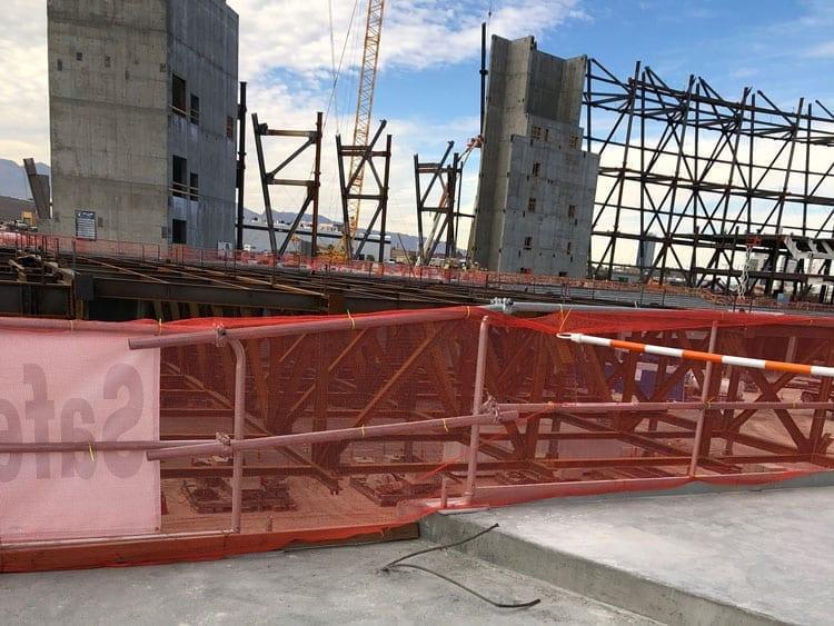 Hilmerson Safety Rail System™ at Jobsite