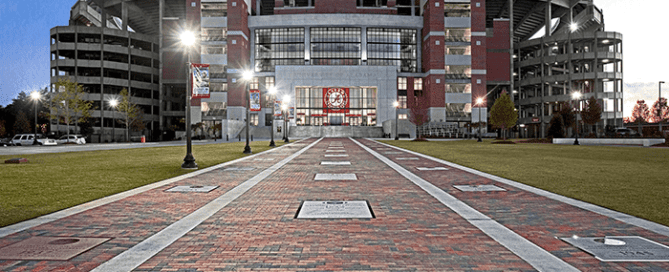 University of Alabama Bryant-Denny Stadium Hilmerson Safety