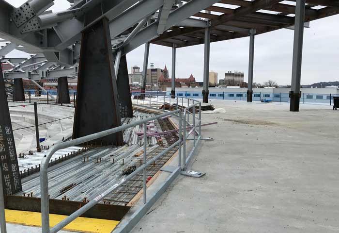 FC Cincinnati West End Stadium – Cincinnati, OH – Hilmerson Safety Rail System™