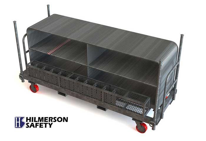 Hilmerson Safety Rail System - Safety Rail Cart System - Patents