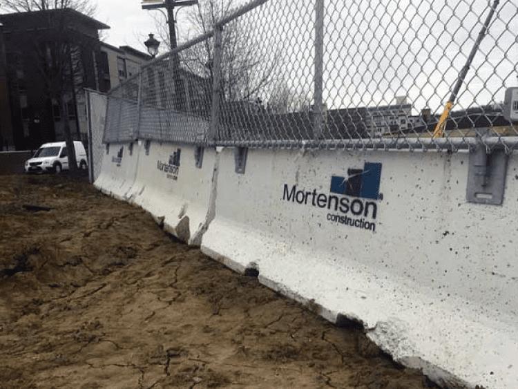 Hilmerson Barrier Fence System™ - At Jobsite