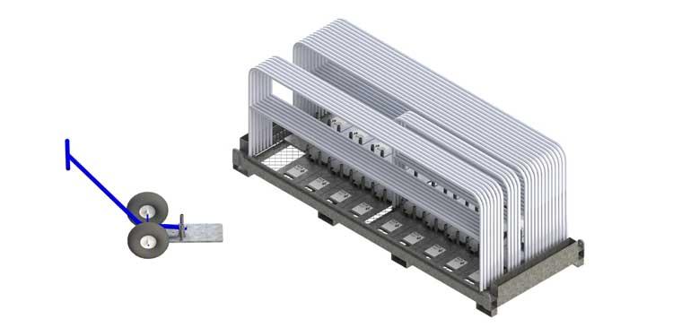 Cart & Kit Hilmerson Safety Rail System