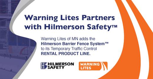 Warning Lites Hilmerson Safety Rental Barrier Fence System