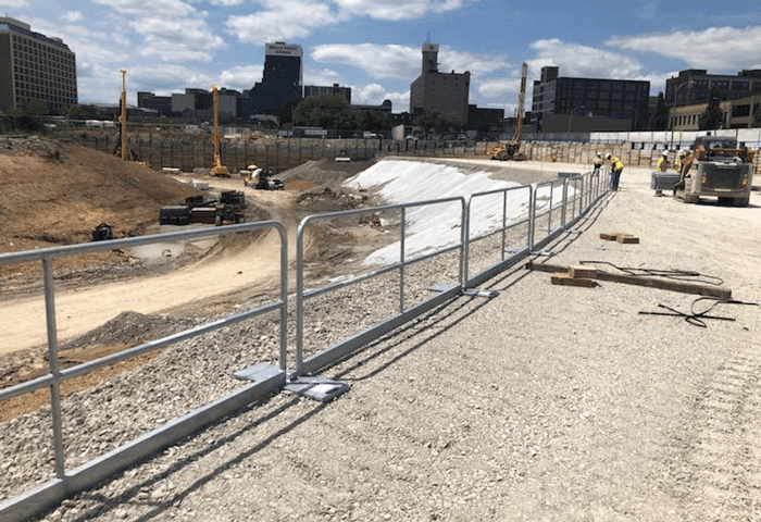 St. Louis Major League Soccer Stadium – Hilmerson Safety Rail System™ – Pro Screen+