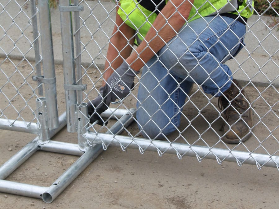 Hilmerson Free-Standing Construction Fence System™