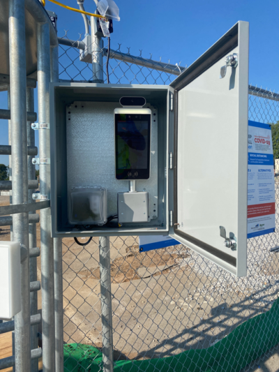 Pro Screen+ at job site Hilmerson Safety