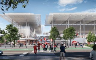 St. Louis Major League Soccer Stadium – Hilmerson Safety Rail System™ – Pro Screen+