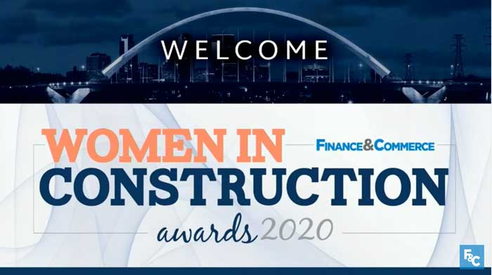 Top Women in Construction Award