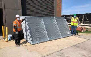 Division Street Remediation - Chicago, IL - Hilmerson Barrier Fence System™