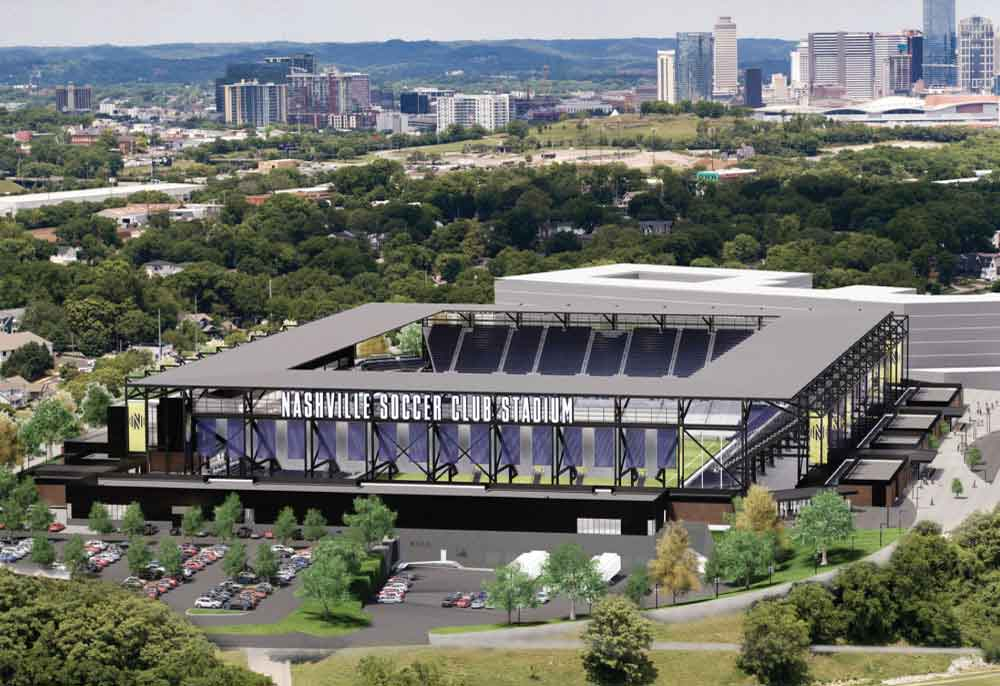 Nashville SC MLS Stadium – Nashville, TN – Hilmerson Safety Rail System™