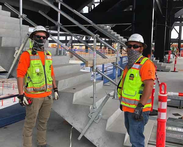 Nashville SC MLS Stadium - Nashville, TN - Hilmerson Safety Rail System™