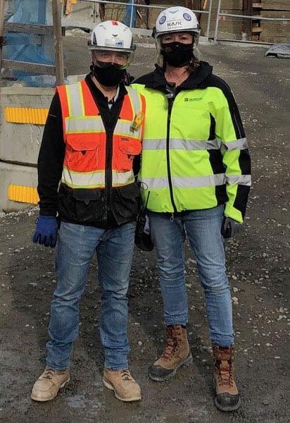Climate Pledge Arena - Seattle, WA – Hilmerson Safety Rail System™