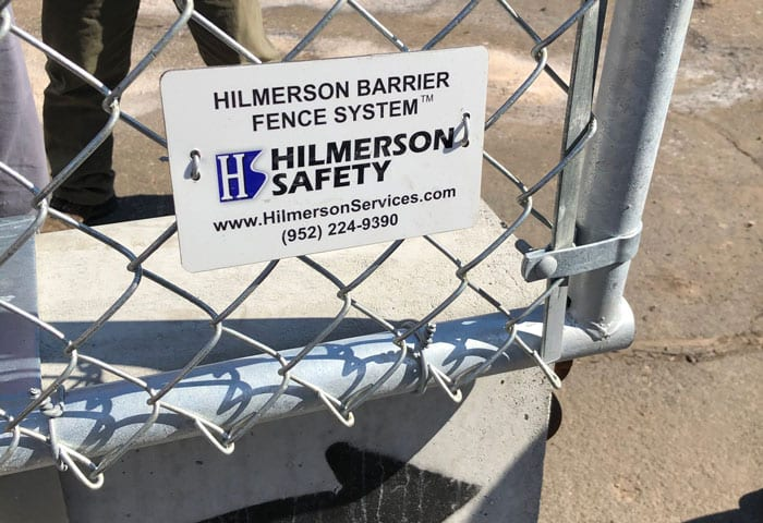 Hilmerson Barrier Fence System