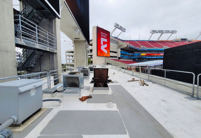 Super Bowl Hilmerson Safety Rail System