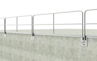 New! Hilmerson Safety® Guardrail Wall Mount Plate
