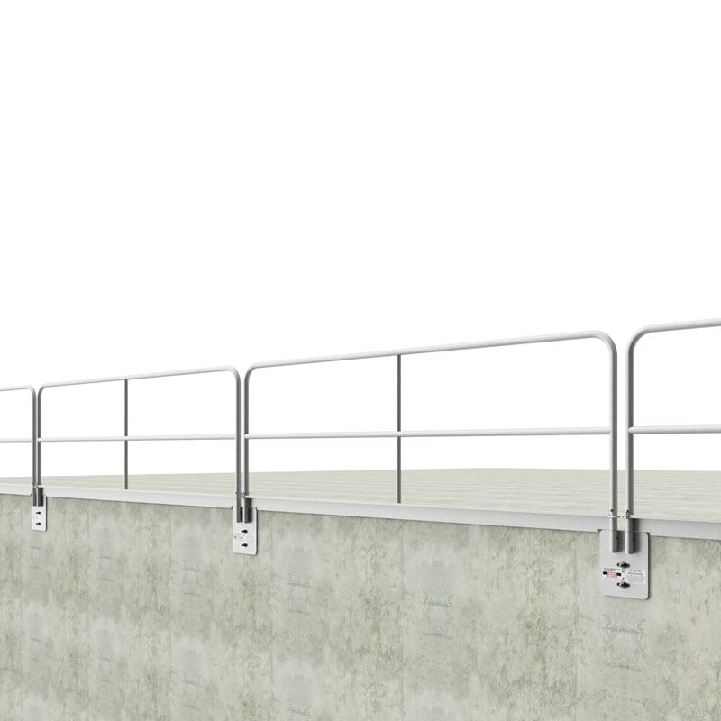 Hilmerson Safety® Guardrail Wall Mount Plate