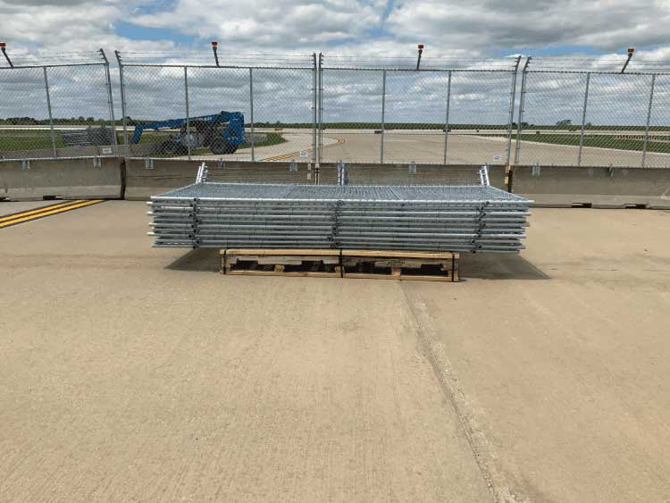 Hilmerson Barrier Fence System™ - at Construction Site