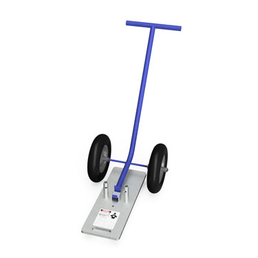"""Guardrail Weighted Base Dolly: 1 ⅝"""" - Guardrail Kits and Applications Hilmerson Safety Rail System™"""