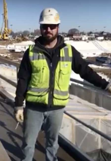 Hilmerson Safety® Case Study: Mortenson Helps Usher in a New Era of Fall Protection