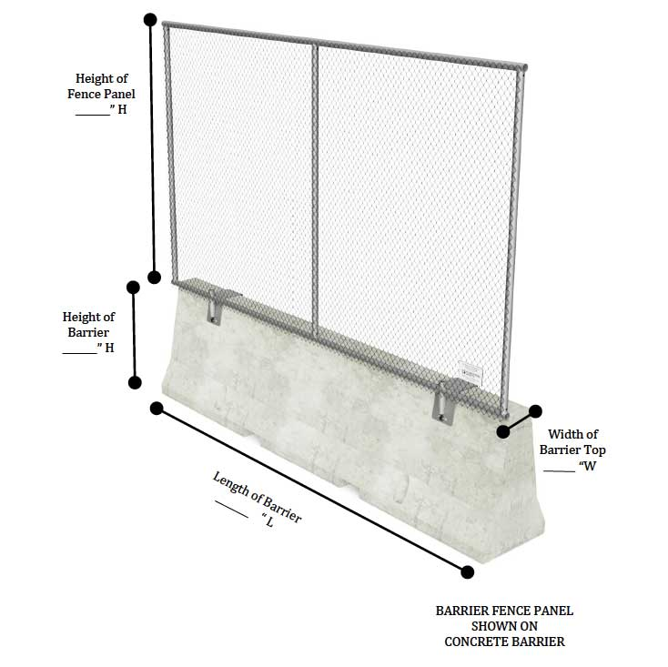 Barrier Fence Panel