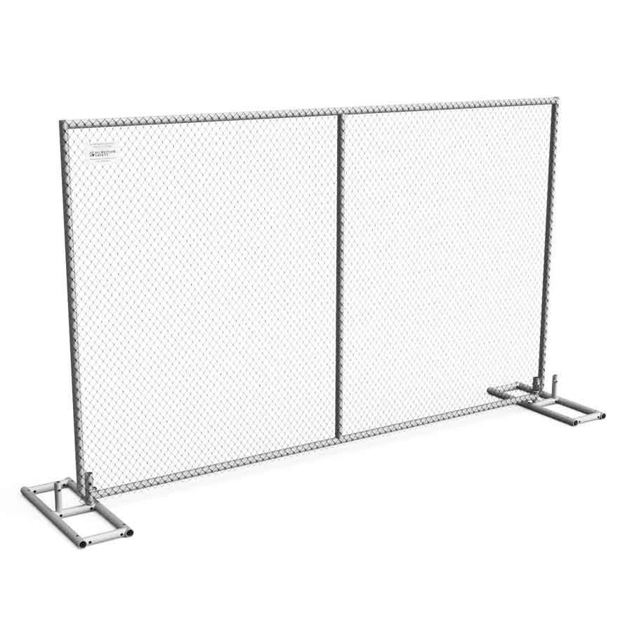 Hilmerson Safety Free Standing Construction Fence System