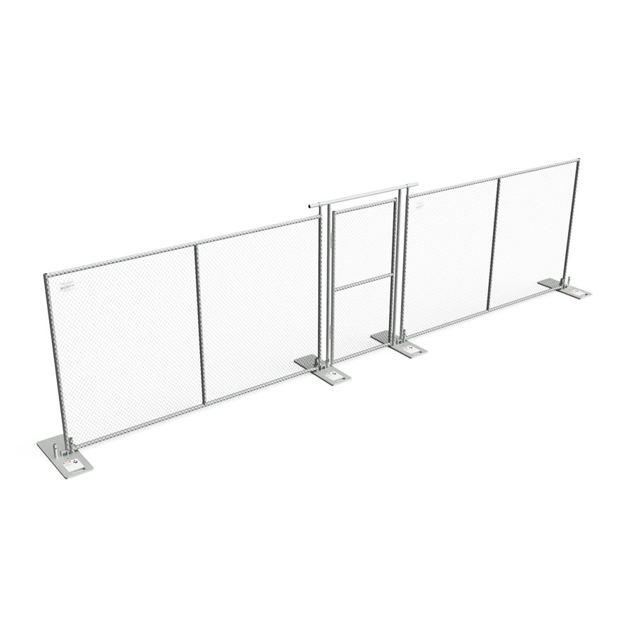 Personnel Gate - Temporary Fence - Barrier Fence