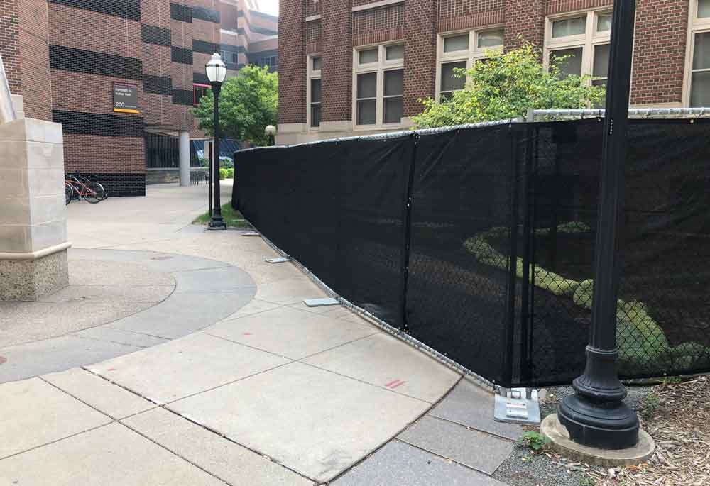 University of Minnesota Hilmerson Safety Free Standing Construction Fence™