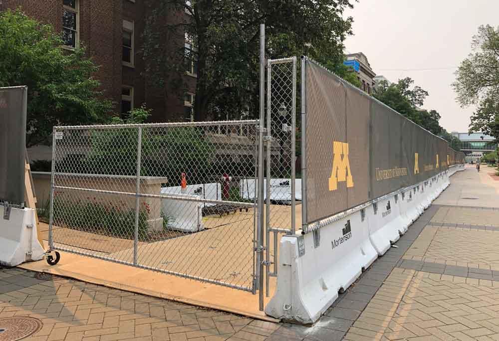 University of Minnesota Hilmerson Safety Barrier Fence™