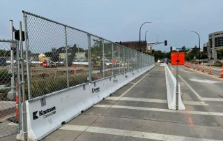 10 Story Parking Garage – Rochester, MN - Hilmerson Barrier Fence System™